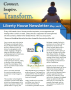 Liberty House Newsletter published 05/31/2018